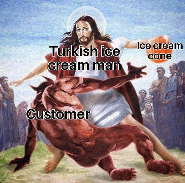 Why do you do this, I just want my icecream