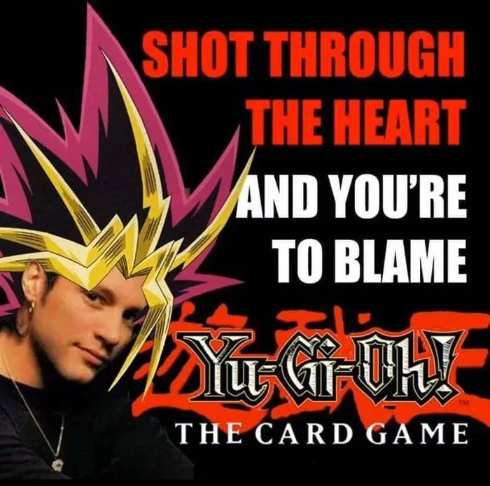 I play my card and you play your game!