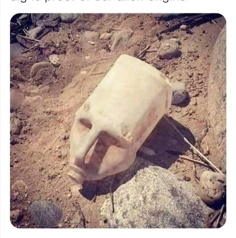 Ancient mask found, irrefutable proof of long skull ancestors