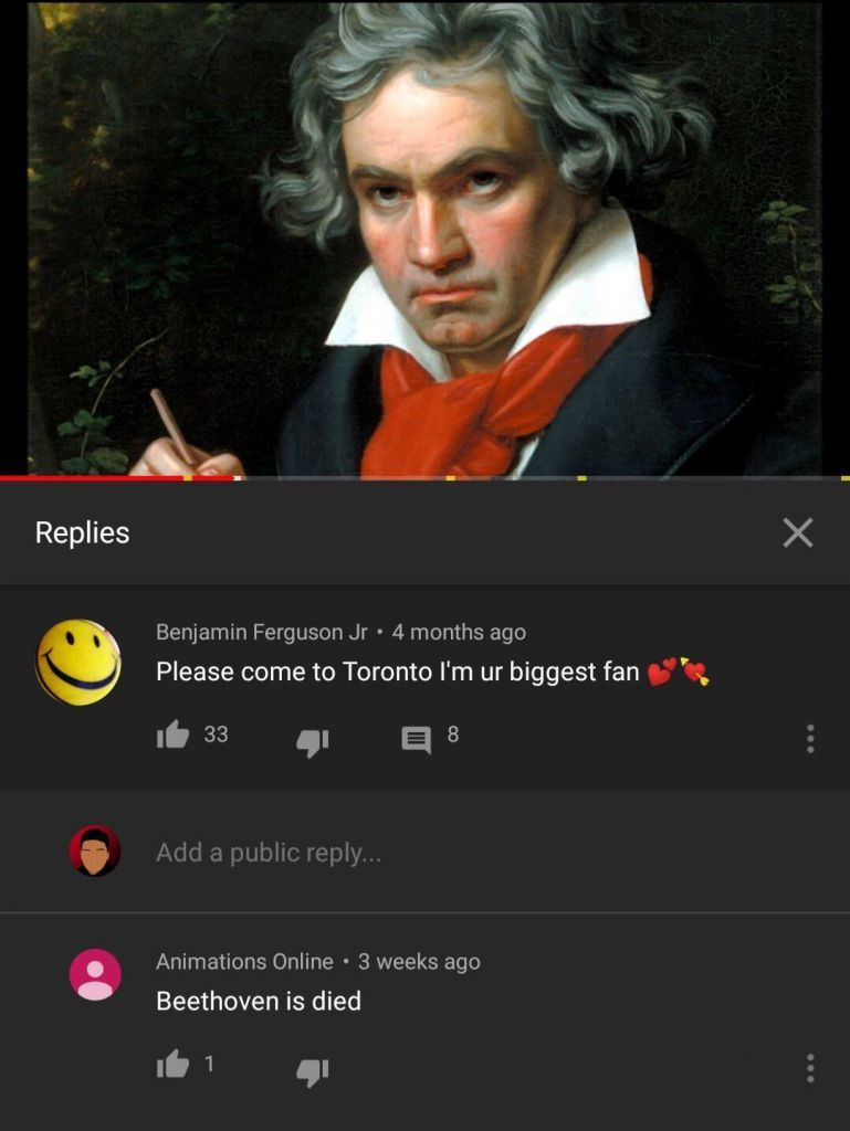 Where was you wen Beethoven die?