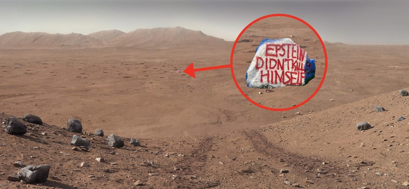 Revealing photos coming back from the freshly landed Perseverance rover today...