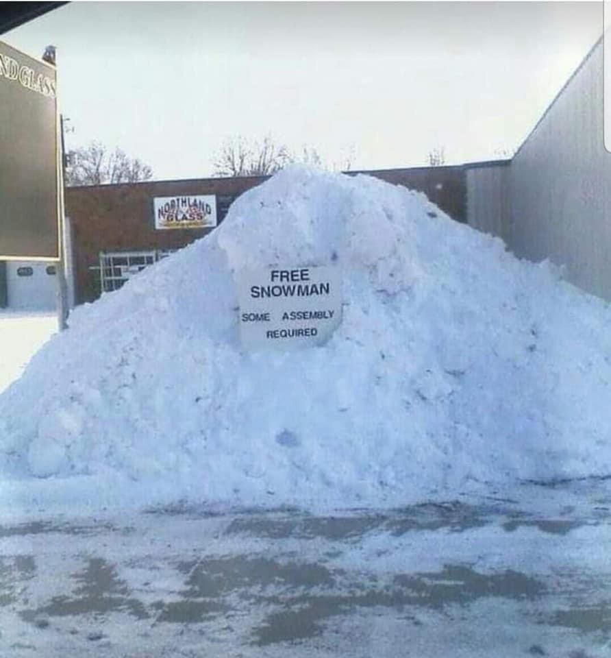 IKEA Snowmen