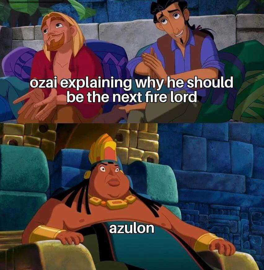 "Virgin Ozai: ""I am your humble servant!"" VS ""Virgin Zuko: ""I am your loyal son!"""