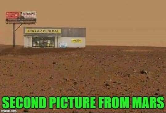 2nd picture sent from Mars