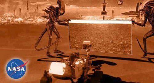 Mars NASA leak