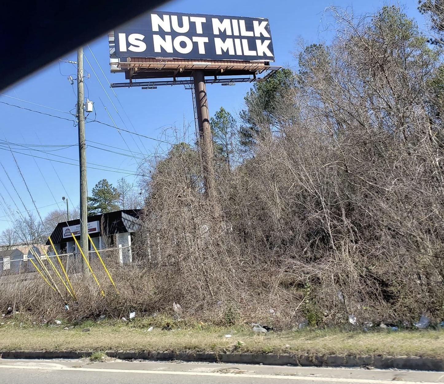 someone was passionate enough to fund a billboard for this cause