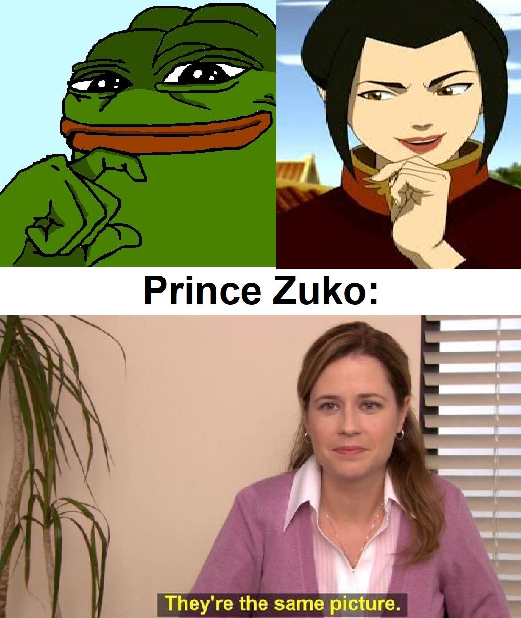 """""""You're banging Mai, aren't you, Zuzu?"""""""