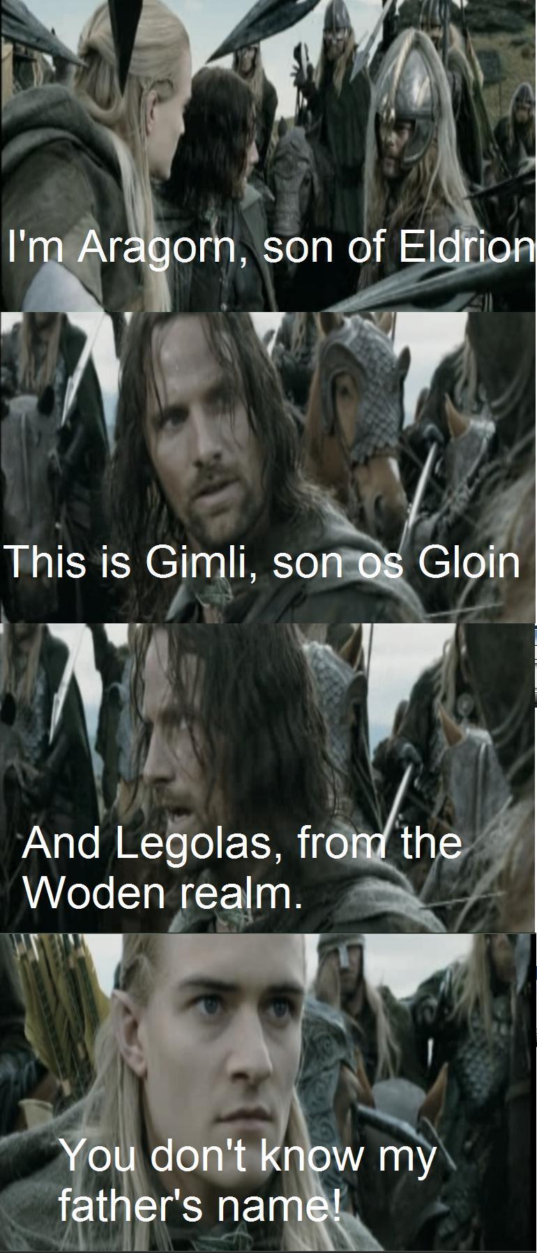 Poor Legolas