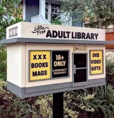 It's the sexiest little library in town!