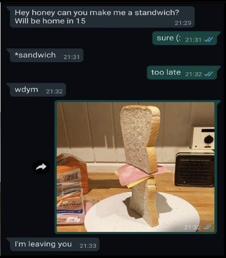 Standwich