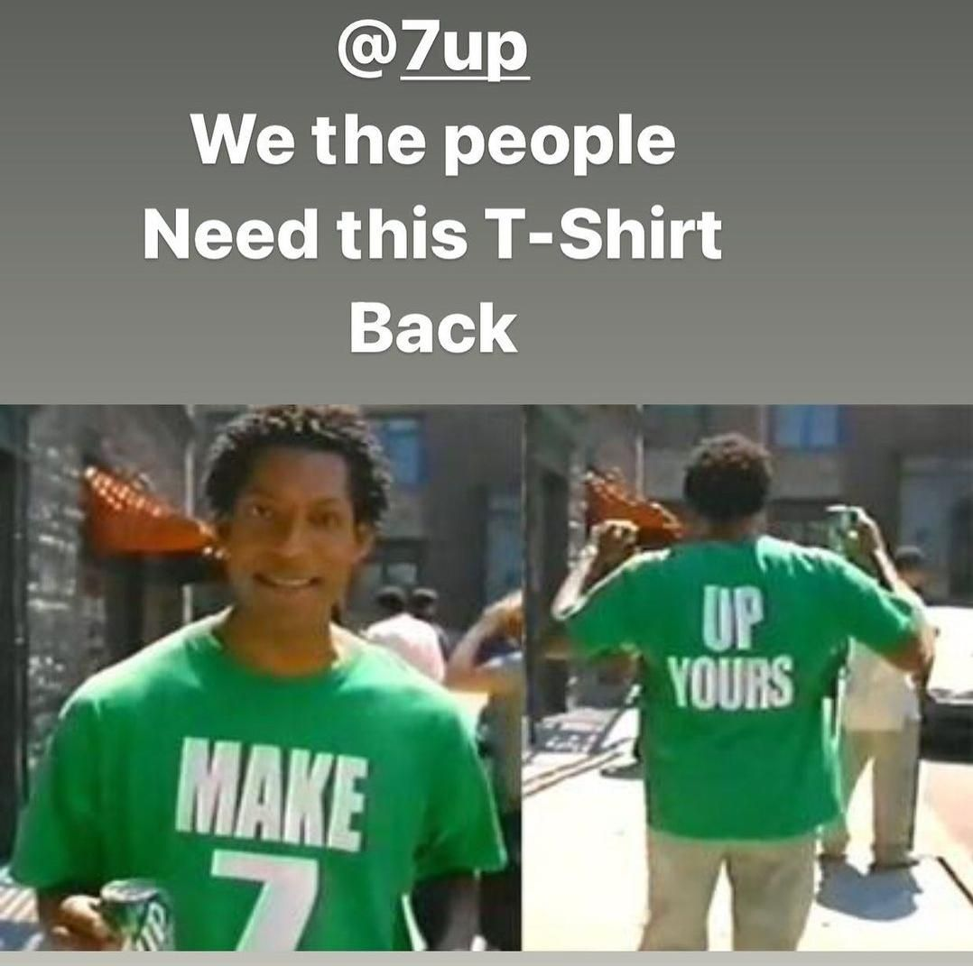 Make 7 up yours