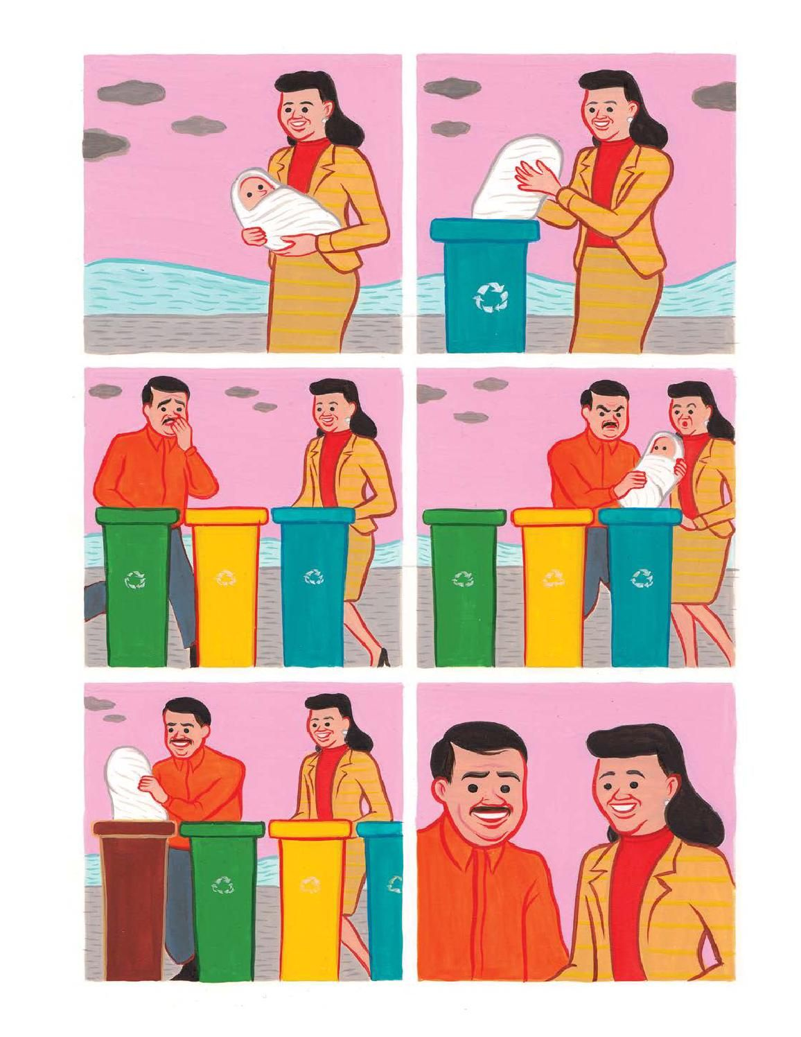 Despicable act. Credits: Joan Cornella