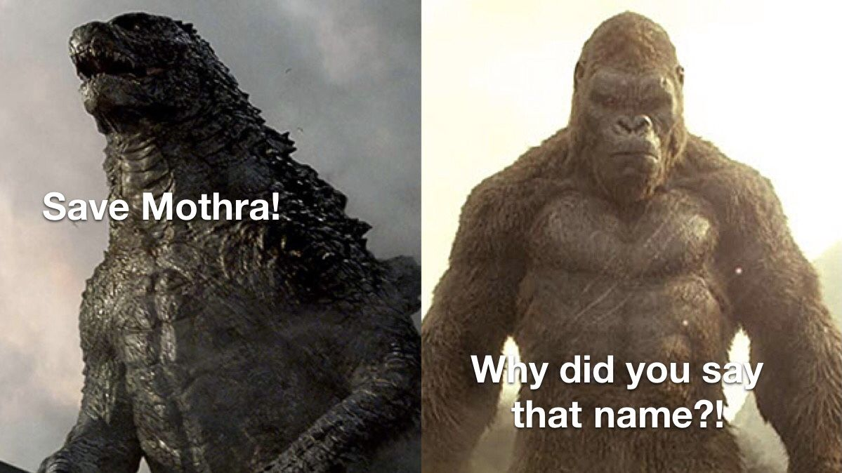 Leaked ending from Godzilla vs Kong!