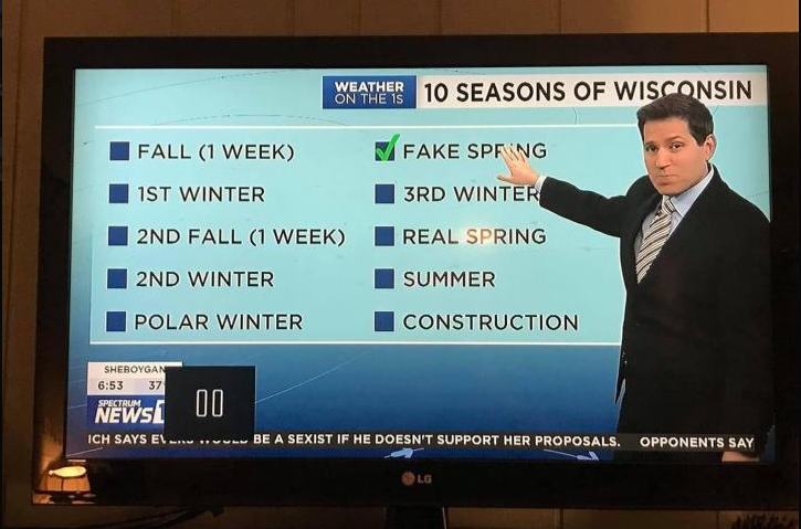 Saw this on my Local Wisconsin news