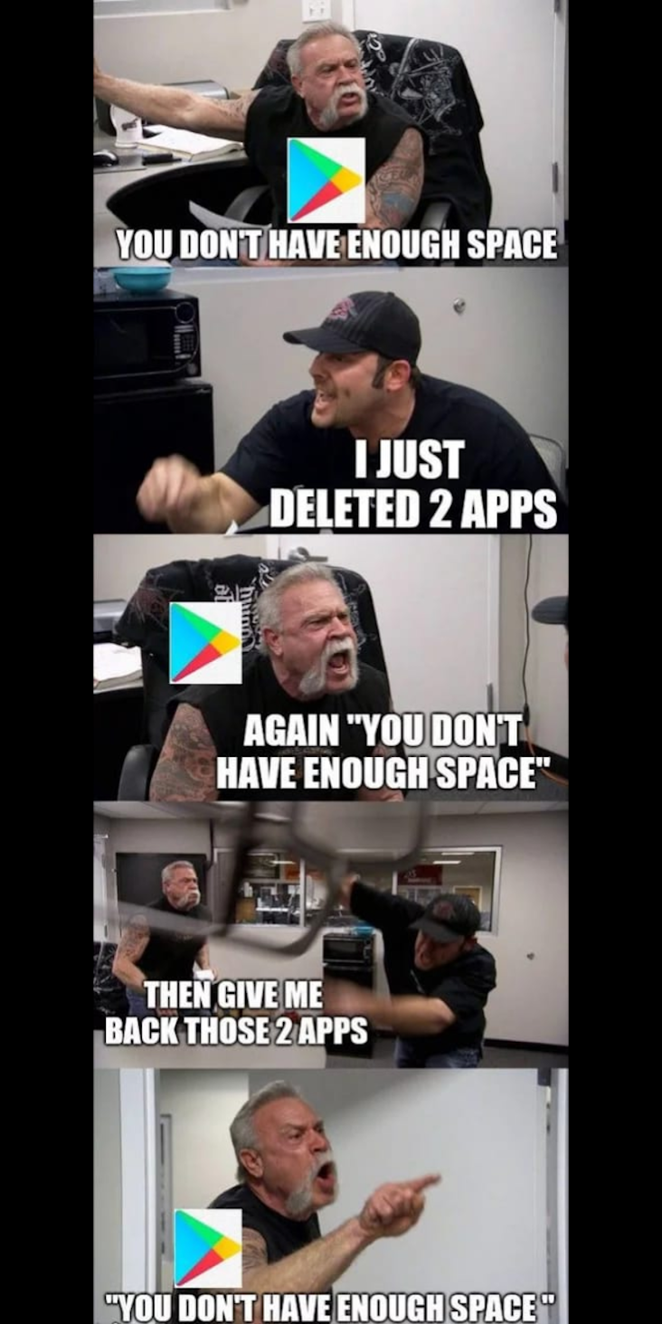 Old android play store issue. do you guys remember?