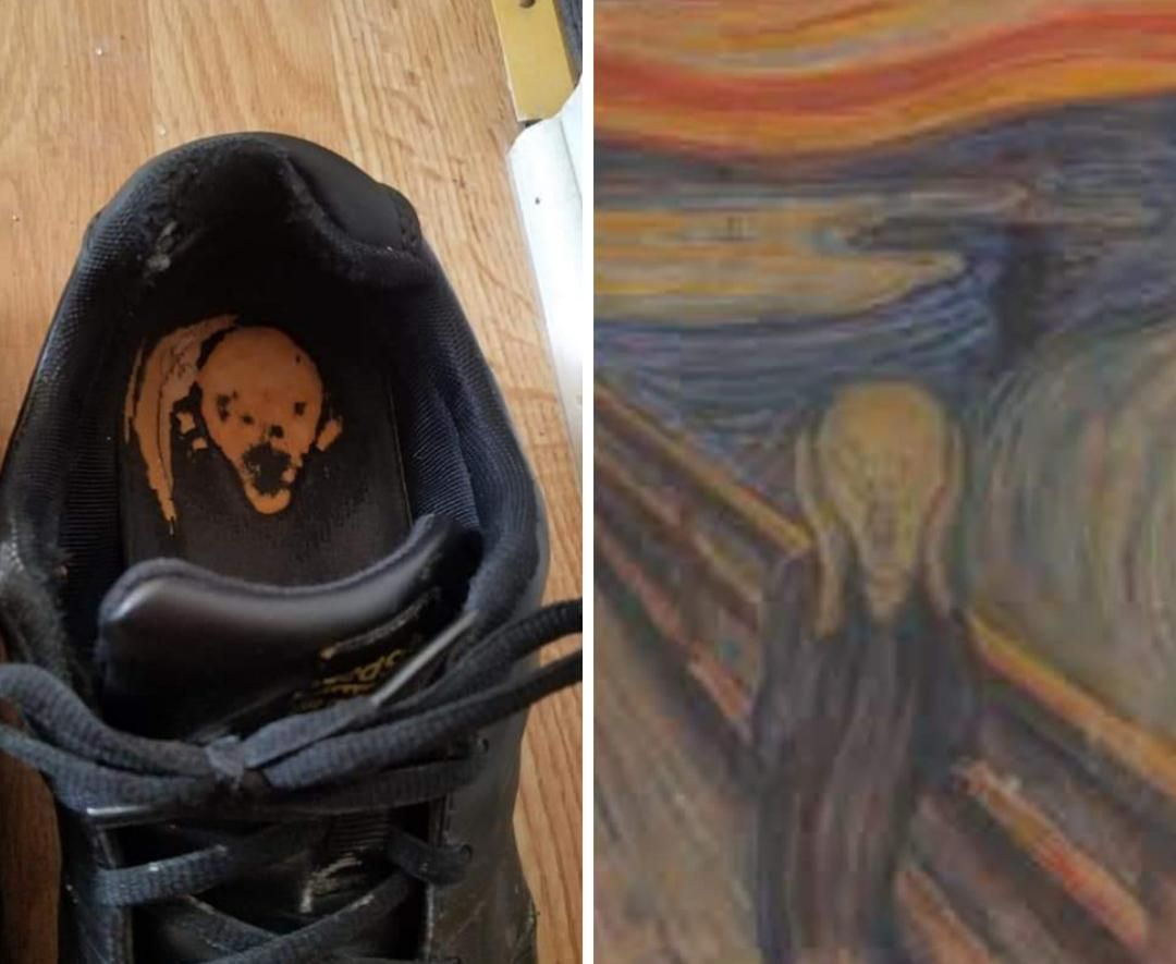 I'm gonna hang this shoe on my wall.. It's as good as art.