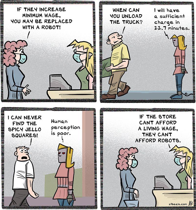 No Minimum Wage
