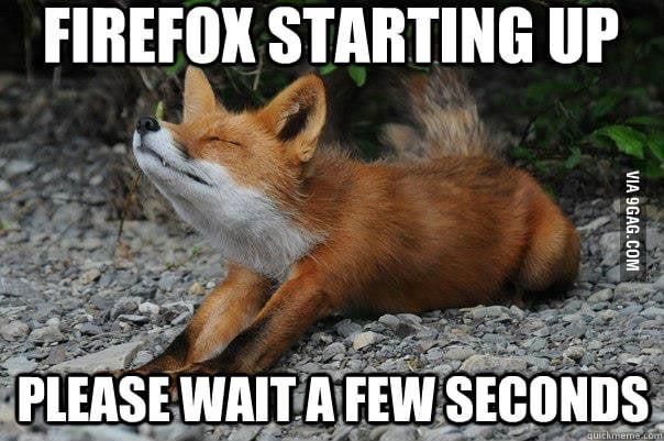 Good ol' Firefox