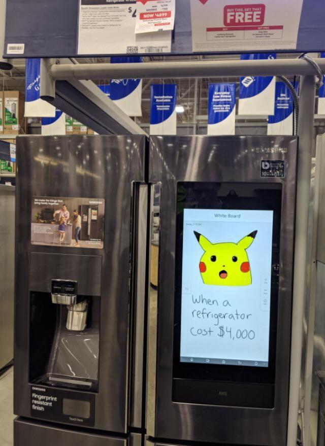 Self-aware fridge