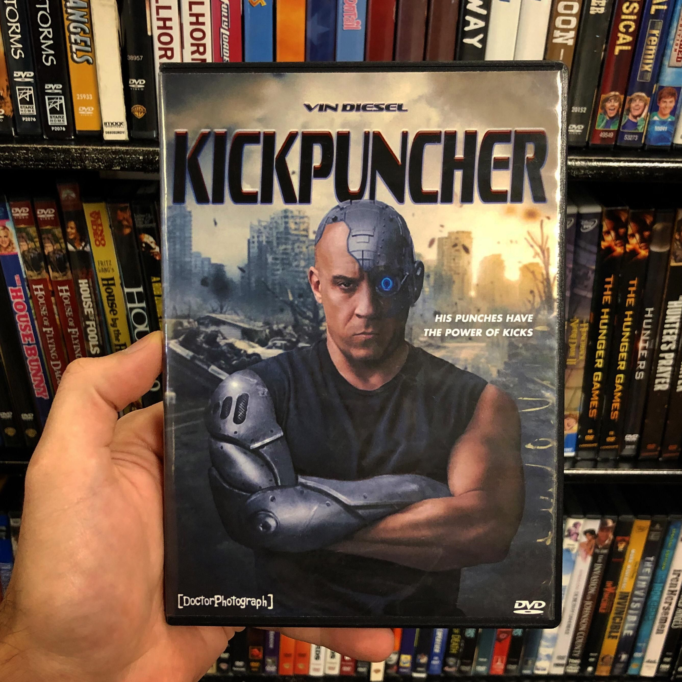 His punches have the power of kicks!