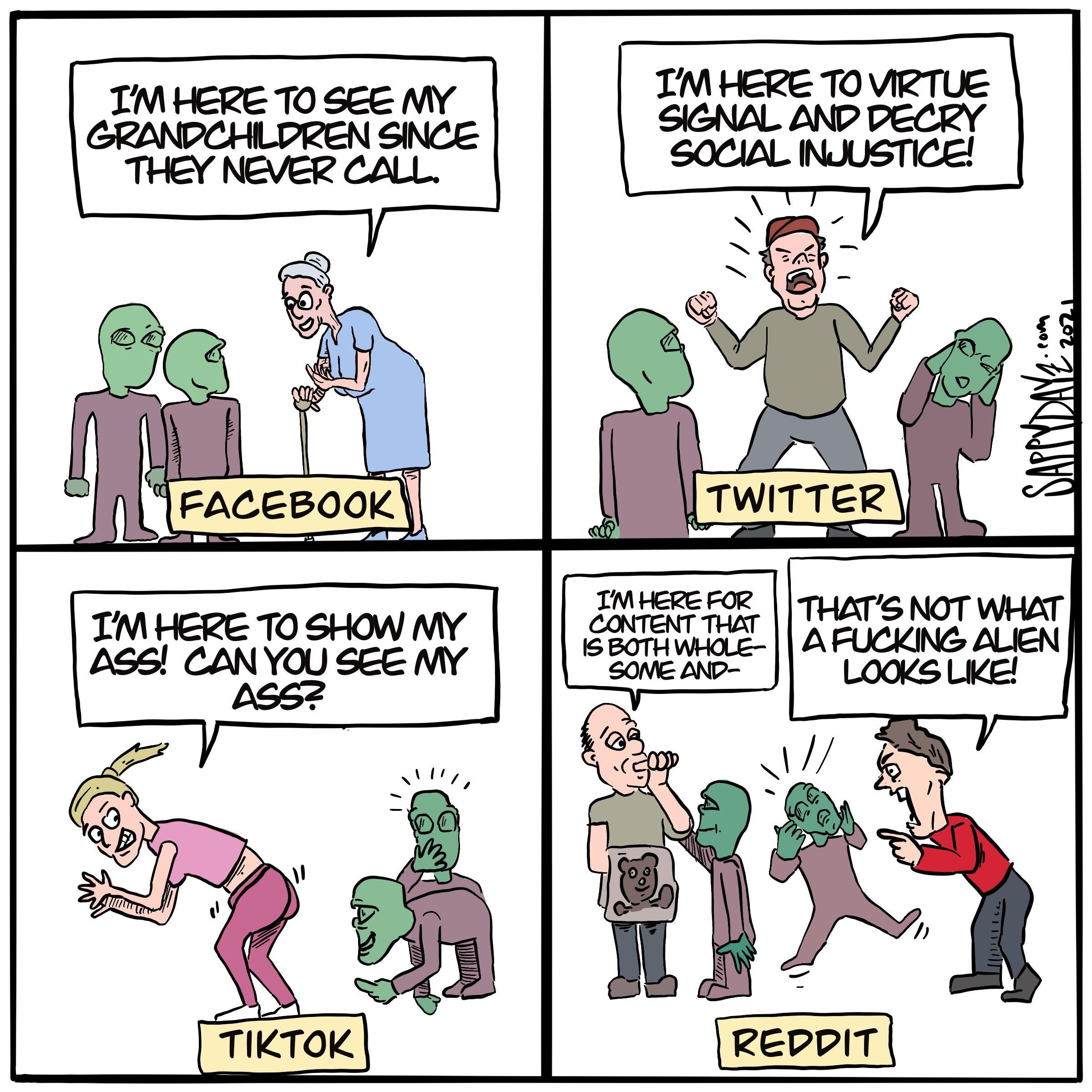 Hitchhiker's Guide To Social Media