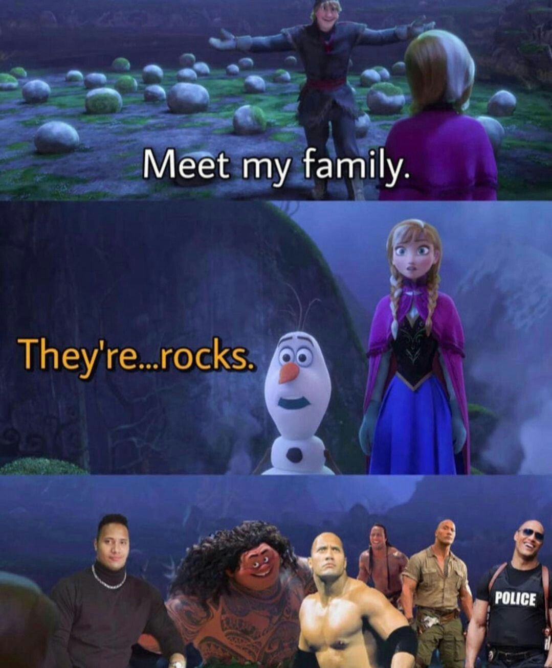 50 shades of The Rock
