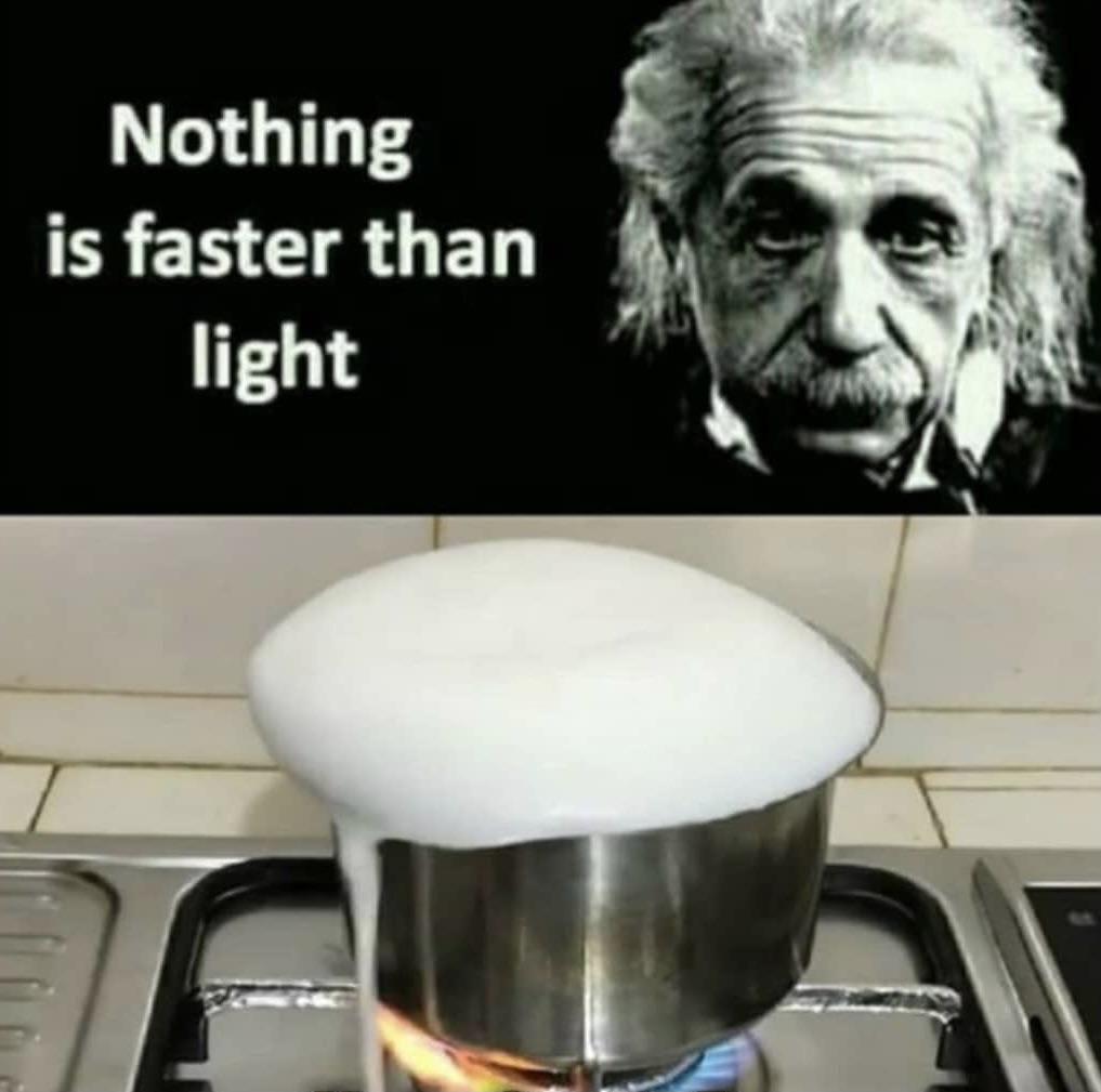 He was wrong!