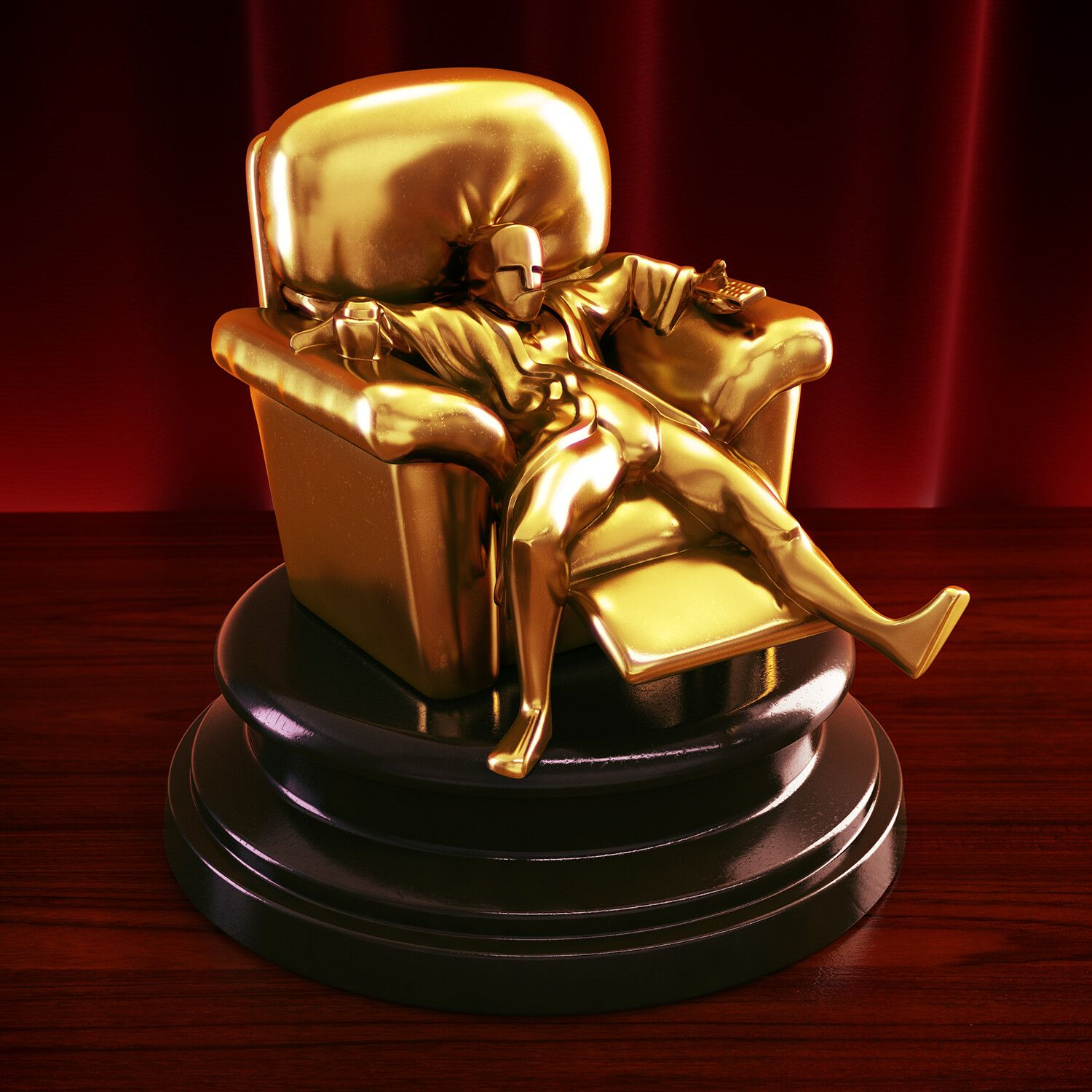 Newly-Redesigned Oscar® statuette