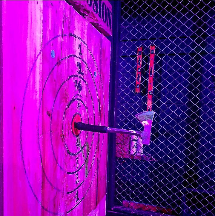 """I refused to play games with my husband for years because he has the """"shine"""". I got sick of losing. He denied it. Then we went axe throwing and..."""