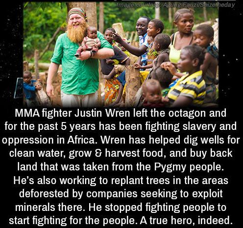 Justin Wren, the MMA fighter who found redemption among the Pygmies