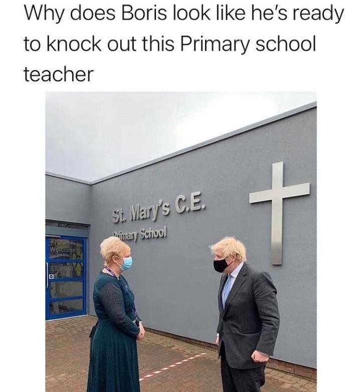 Johnson, education slayer
