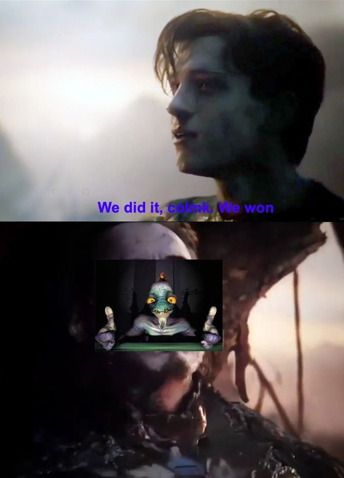 Let's have an F for the one who stood for us all this time