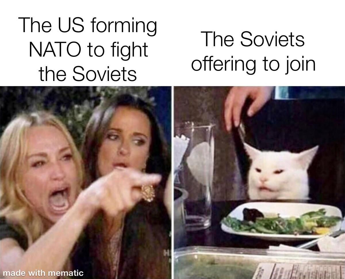 You've got to give the Soviets credit for trying...