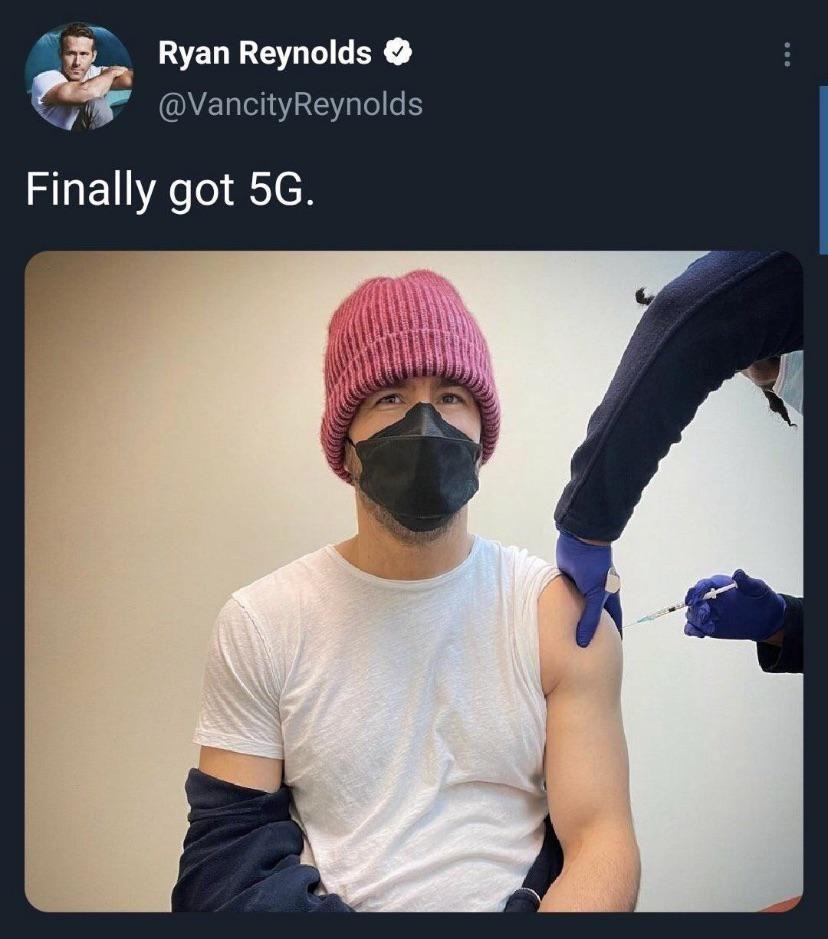 Gotta love Ryan Reynolds