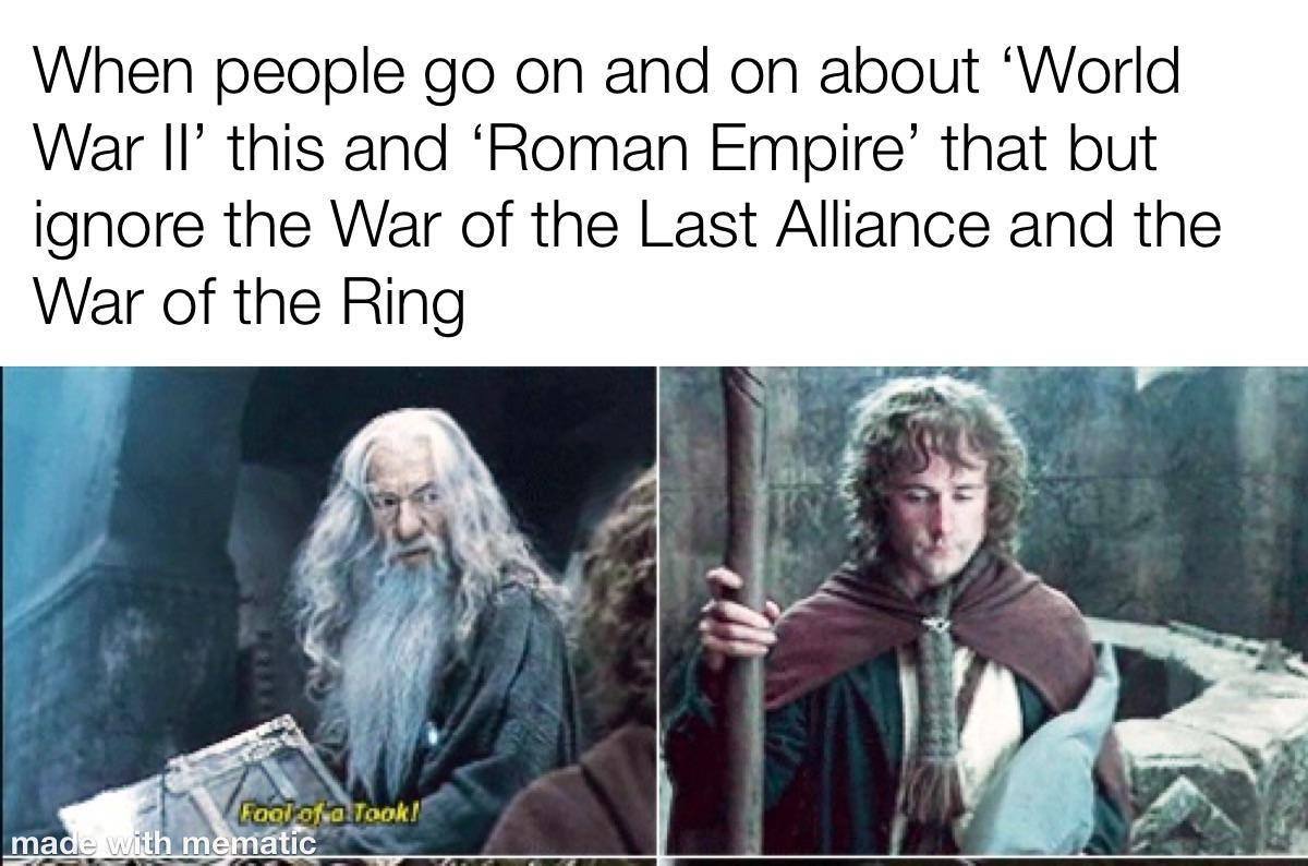 A meme about forgotten wars