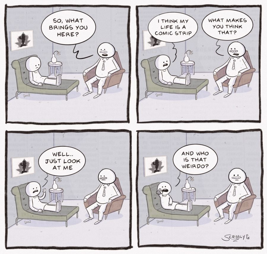Comic Strip Life