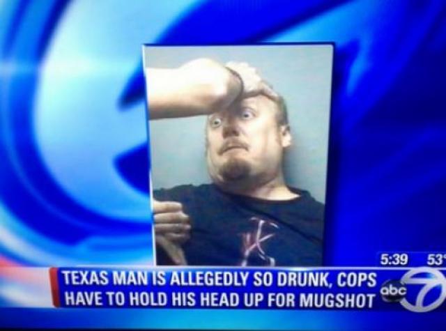 Mugshot Fail