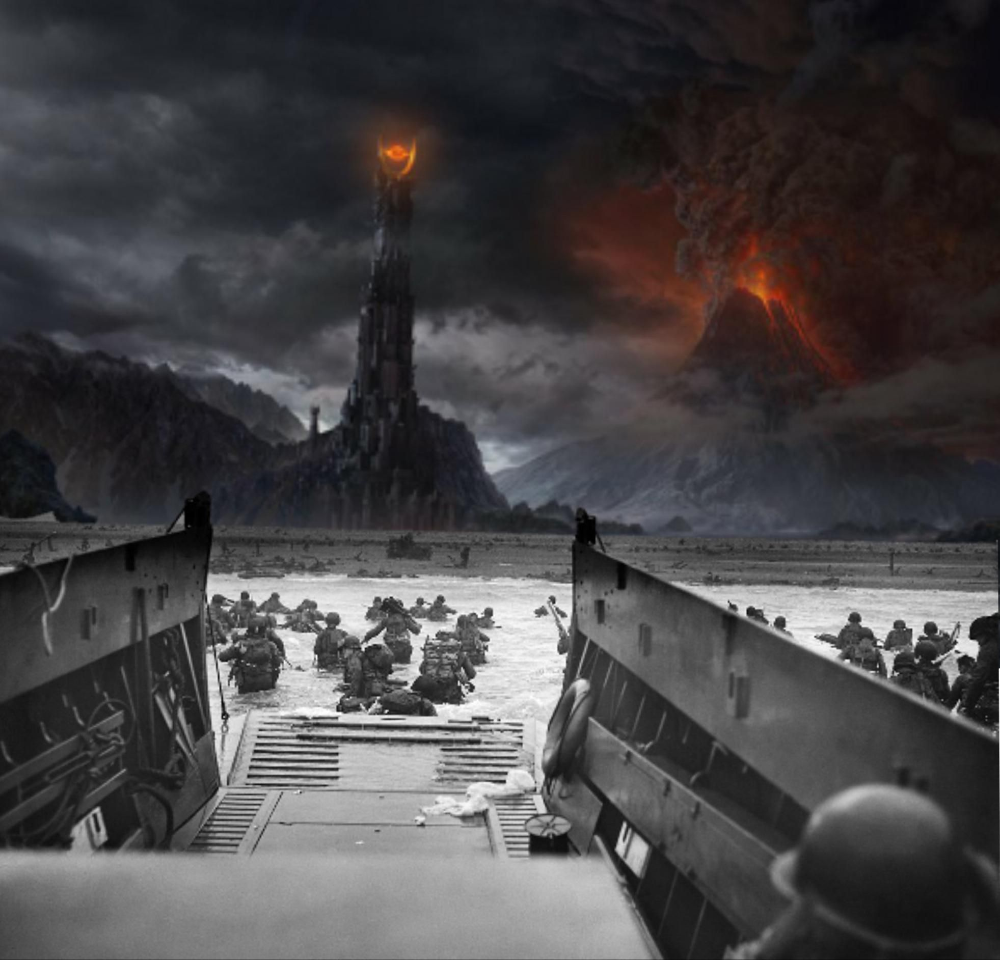 Let us never forget those who fought against Sauron occupation.