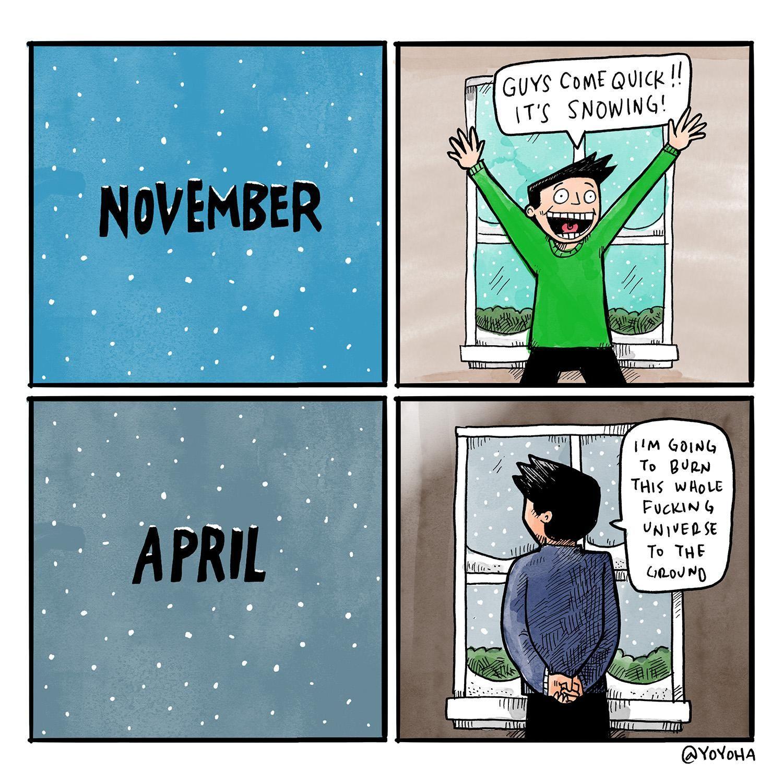 april snow showers