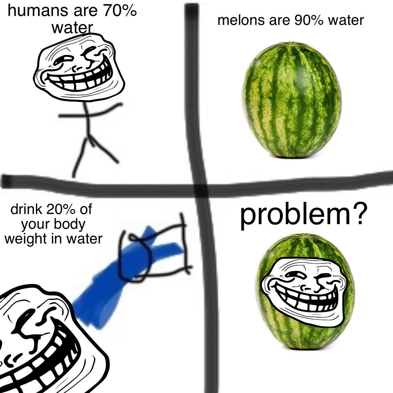 Some good ol' fashioned troll physics