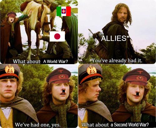 WW2 goes Brrrrrrr.