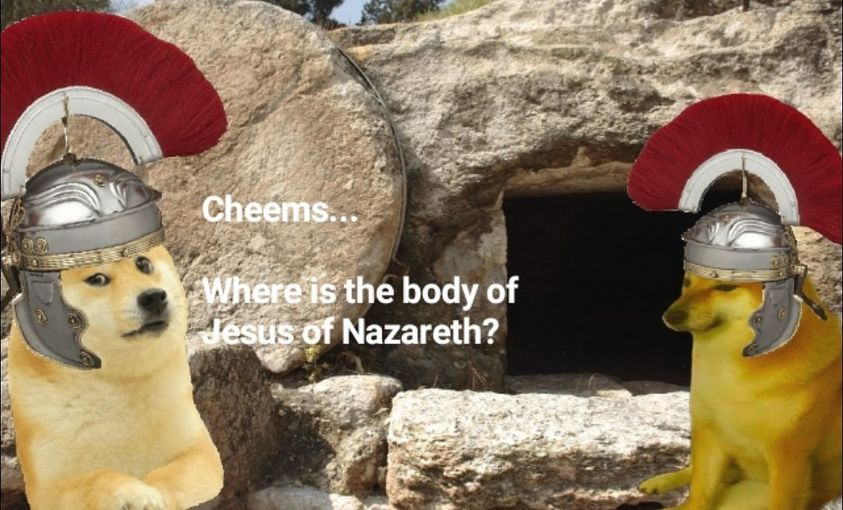 Happy Easter you hellbound degenerates