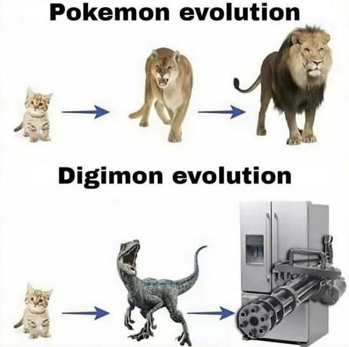 Digimon is superior