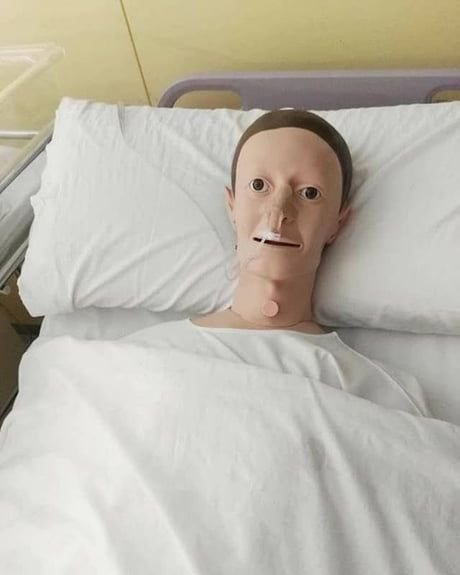 Mark Zuckerberg hospitalized after getting overworked while creating Facebook, 2004