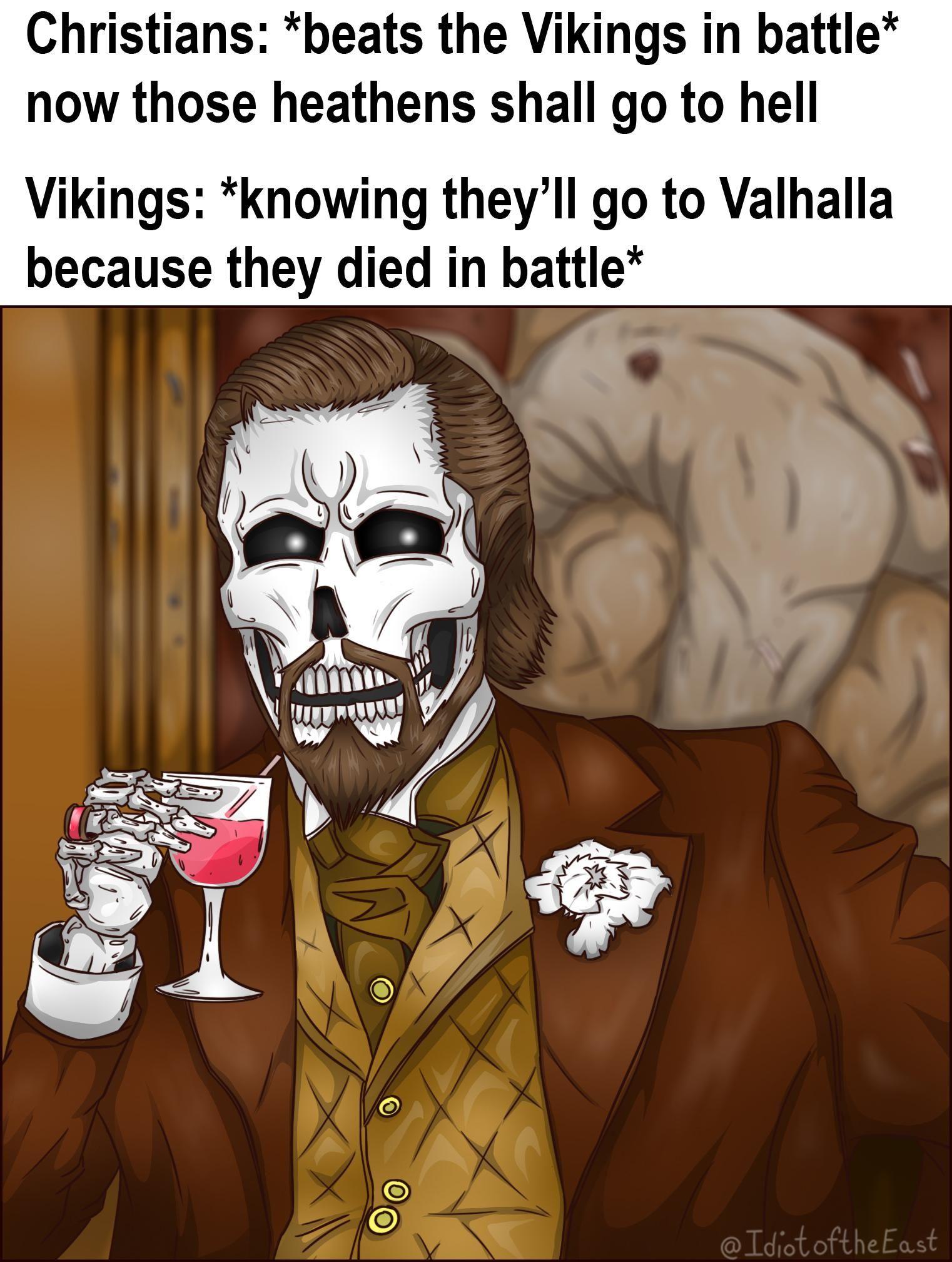 valhalla it is