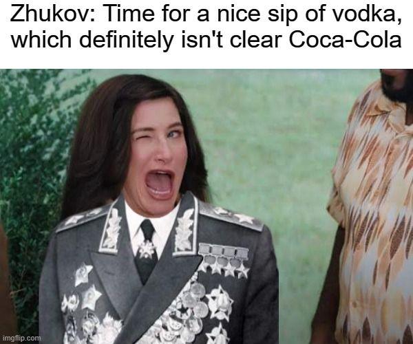 The first Soviet ambassador to Coca-Cola