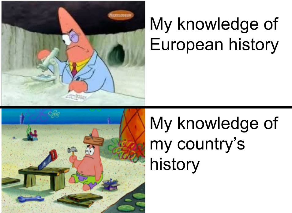 I should really catch up on my Canadian history