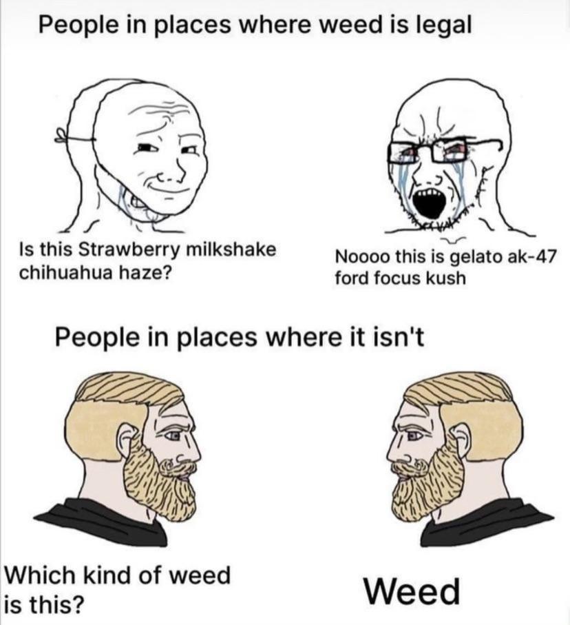 Dude, it's weed bro.