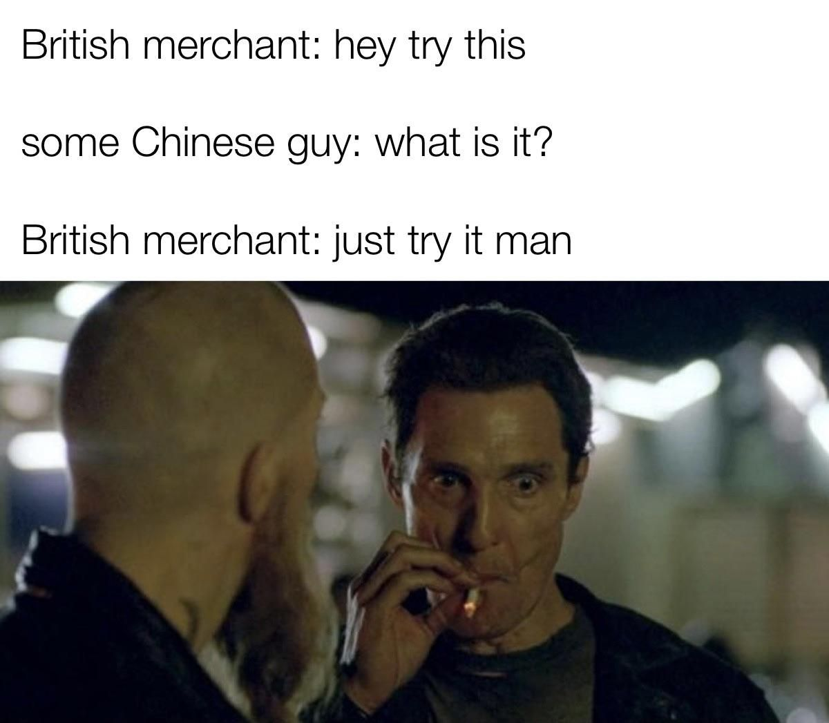 How to get a country hooked on opium 101