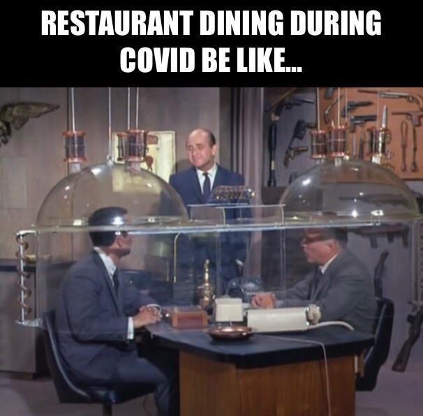 Dining during COVID season